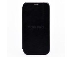 "Чехол-книжка - BC002 для ""Apple iPhone 12 Pro Max"" (black) откр.вбок"