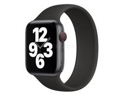 """Ремешок - для """"Apple Watch 38/40 mm"""" монобраслет (black) (150 мм)"""