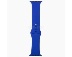 "Ремешок - для ""Apple Watch 42/44 mm"" Sport Band (L) (blue)"