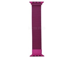 """Ремешок - для """"Apple Watch 38/40 mm"""" миланский сетчатый браслет (pink)"""