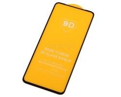 """Защитное стекло """"Полное покрытие"""" для Xiaomi Redmi Note 9 Черное"""