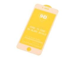 """Защитное стекло """"Плоское"""" для iPhone 6/6S Белое"""