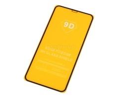 """Защитное стекло """"Плоское"""" для iPhone Xs Max/11 Pro Max Черное"""