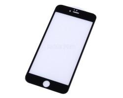 """Защитное стекло """"Оптима"""" для iPhone 6 Plus/6S Plus Черное (Закалённое, полное покрытие)"""