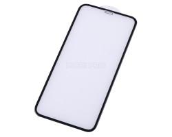 """Защитное стекло """"Оптима"""" для iPhone X/Xs/11 Pro Черное (Закалённое, полное покрытие)"""