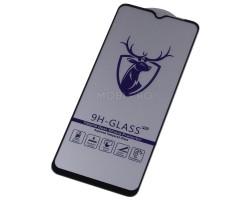 "Защитное стекло ""Премиум"" для Samsung A125F/A022G/M127F (A12/A02/M12) Черное"