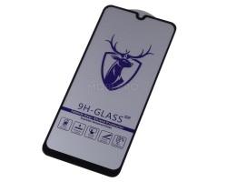"""Защитное стекло """"Премиум"""" для Samsung A205/A305/A307/A505/M307 (A20/A30/A30s/A50/M30s) Черное"""