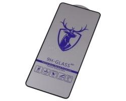 """Защитное стекло """"Премиум"""" для Samsung A515F/M317F (A51/M31s) Черное"""