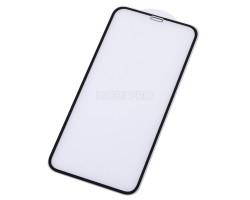 """Защитное стекло """"Тонкое"""" для iPhone Xr/11 Черное (Полное покрытие 0,25мм)"""