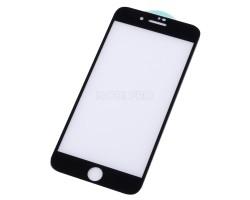 """Защитное стекло """"Стандарт"""" для iPhone 7 Plus/8 Plus Черное (Полное покрытие)"""