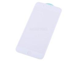 """Защитное стекло """"Стандарт"""" для iPhone 7 Plus/8 Plus Белое (Полное покрытие)"""