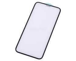 """Защитное стекло """"Стандарт"""" для iPhone X/Xs/11 Pro Черное (Полное покрытие)"""