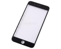 Стекло для iPhone 7 Plus в сборе с рамкой и OCA пленкой Черное