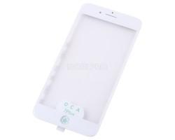 Стекло для iPhone 7 Plus в сборе с рамкой и OCA пленкой Белое