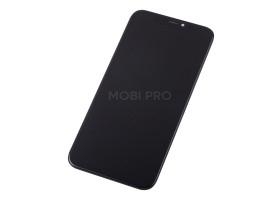 Дисплей для iPhone X в сборе Черный (Hard OLED) - Премиум