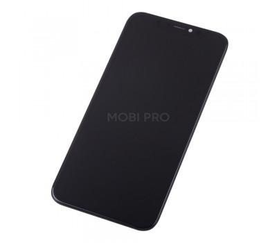 Дисплей для iPhone X в сборе Черный - Премиум