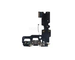Шлейф для iPhone 7 на системный разъем/микрофон Черный
