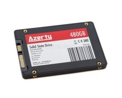 """Внутренний SSD накопитель Azerty Bory R500 480GB (SATA III, 2.5"""", NAND 3D TLC)"""