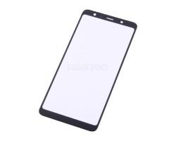 Стекло для Samsung A750F (A7 2018) Черное