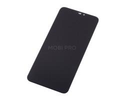 Дисплей для Huawei Honor 8C в сборе с тачскрином Черный - Премиум