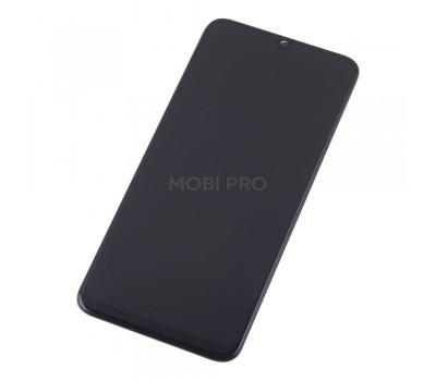 Дисплей для Samsung A505F (A50) модуль Черный - Ориг