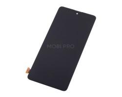 Дисплей для Samsung A515F/M317F в сборе с тачскрином Черный - (AMOLED, с регулировкой подсветки)