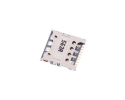 Коннектор SIM для LG E988/H818/D335/H502/H422/H522y/K130E/Huawei G630/Honor 4X/Xiaomi Redmi 2