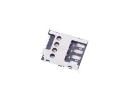 Коннектор SIM для Nokia X Dual/XL Dual/X2 Dual/502 Dual/530/630 Dual/635/730 Dual