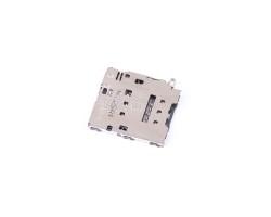 Коннектор SIM для Samsung A800F/A600F/A605F/G570F/G928F/J330F/J415F/J530F/J600F/J610F/J730F/J810F